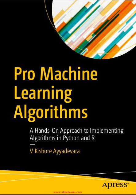 Pro Machine Learning Algorithms Pdf Programmer Books