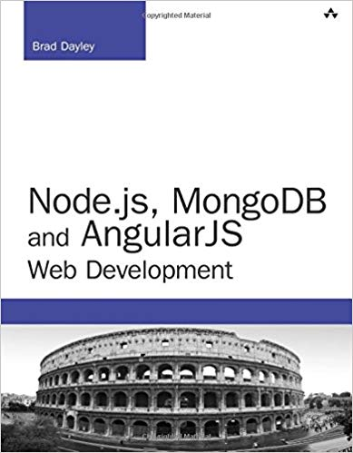 Node.js MongoDB and AngularJS Web Development