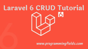 Laravel 6 CRUD Example