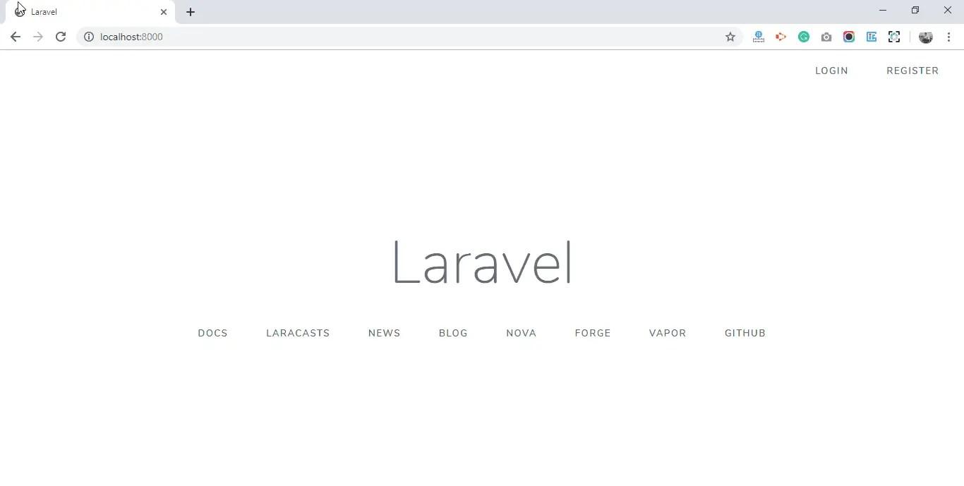 Laravel 6 Auth Added