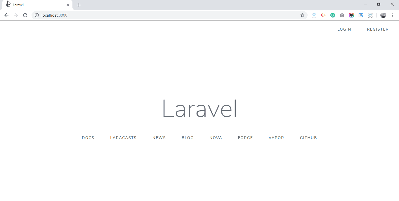 Laravel 6 Auth Added