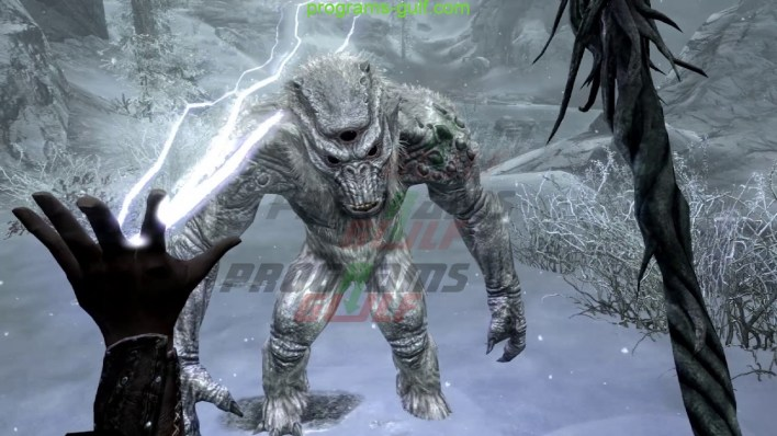 لعبة The Elder Scrolls V Skyrim