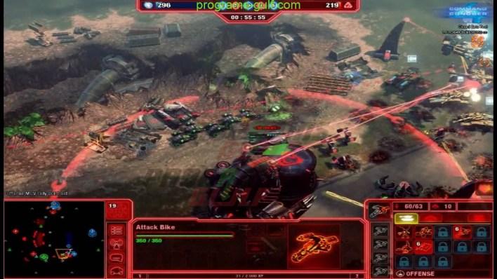 صورة من داخل لعبة red alert 4