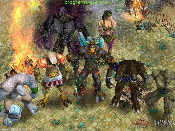 مشاهد من Age of Mythology The Titans
