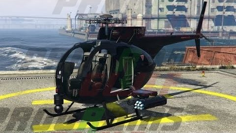 Buzzard Attack Helicopter
