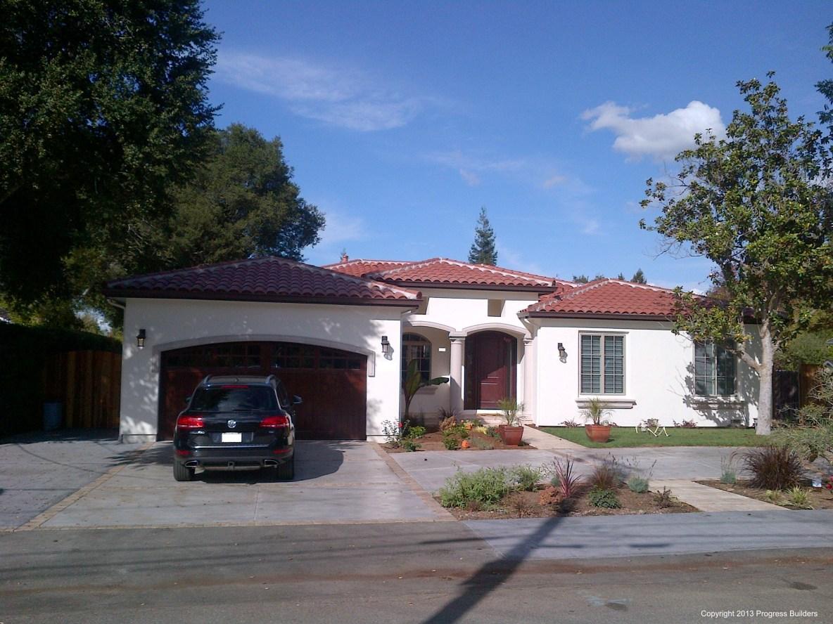 Mediterranean style home in Los Altos