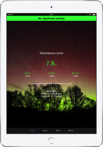 AuroraWatch UK Aurora Borealis (Northern Lights) iPad Alerts