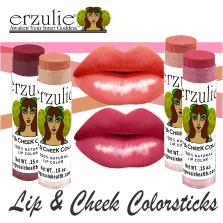 ERZULIE® Natural Lipstick and Blush Colorstick