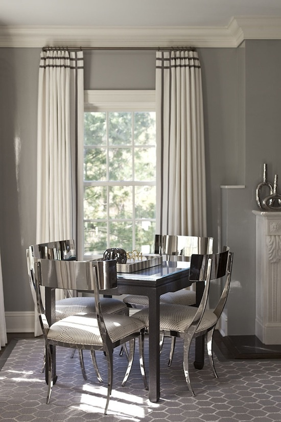 How to Make Your Home Look Expensive - Progression By Design on Farmhouse:-Cra1Rtrksu= Dining Room Curtains  id=81381