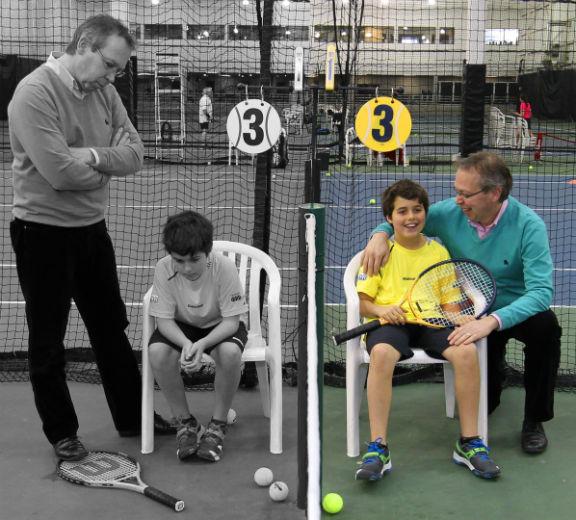 Guide des parents de joueurs de tennis comportement