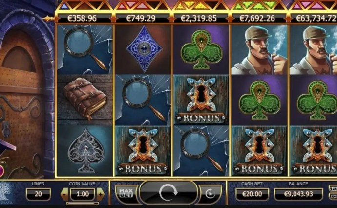 Holmes and the Stolen Stones Slot