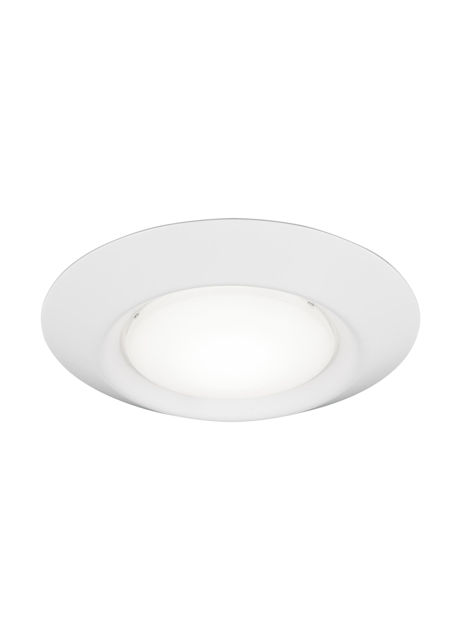 traverse 4 led recessed lighting in white
