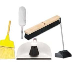 Brooms, Brushes, Dusters and Mops