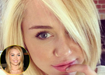 Miley Cyrus Unveiled New Haircut And New Blonde Color On