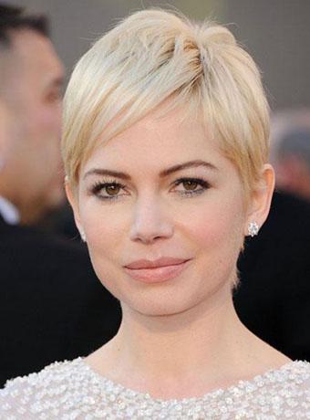 Michelle Williams Short Blonde Hair