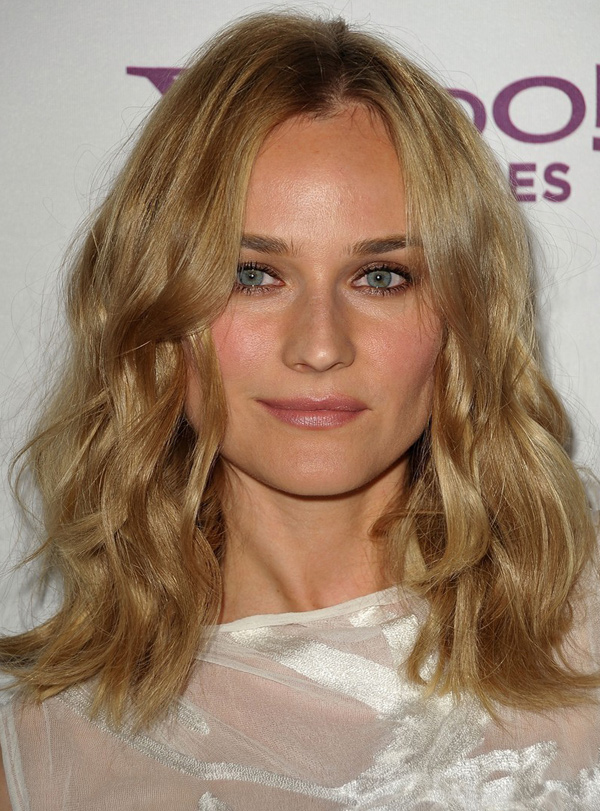 Diane Krugers Soft Waves Hairstyle