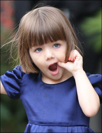 Suri Cruise Is Hollywoods Hottest Tot