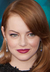 Emma Stone 3 Styling Tricks For Round Face Shape