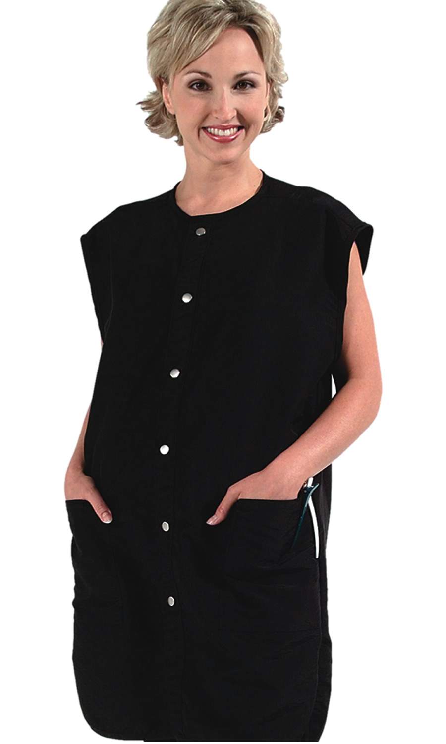Free Shipping Stylist Barber Unisex Vest 9907 In