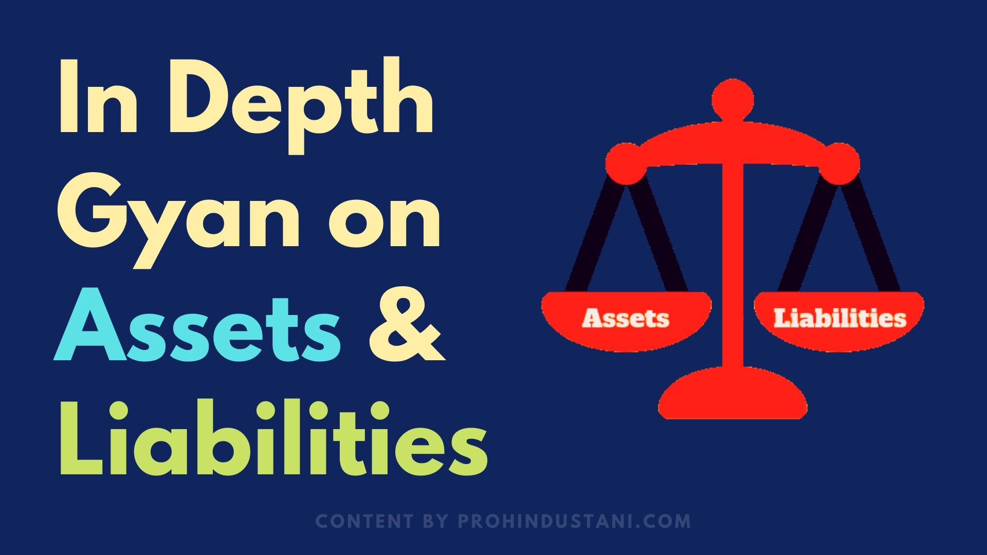 liabilities meaning in Hindi- Assets और Liabilities क्या है