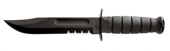 KA-BAR Fighting Utility Serrated Edge Knife - proHuntingHacks