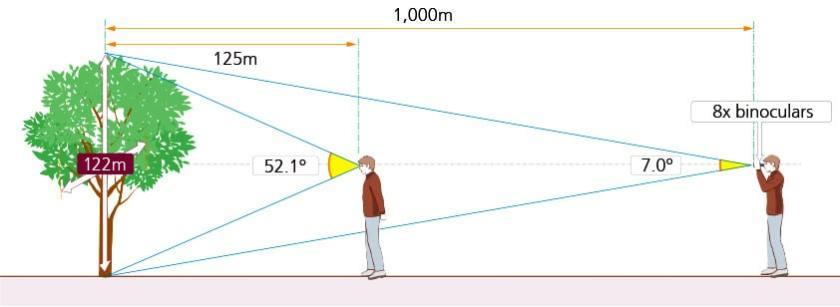 Field of View of Binoculars Explained