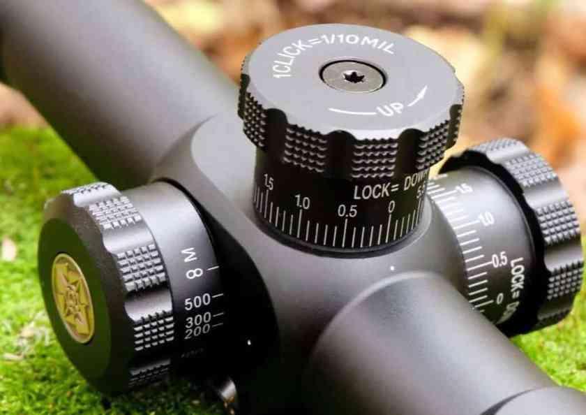 Rifle Scope Adjustment Understanding