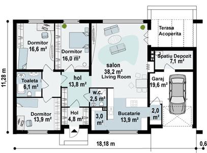 Proiect-casa-Parter-cu-Garaj-123011