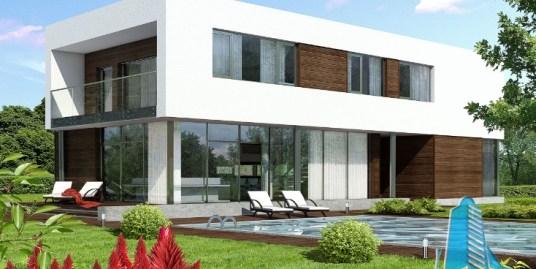 Proiect de casa cu etaj-100701