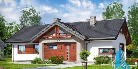 Proiect de casa cu parter -100712