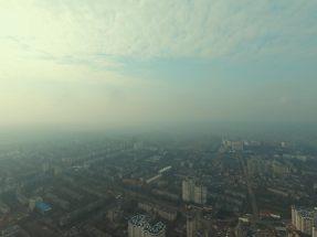 Foto-filmare cu drona 4k.Fenomen poluare Chisinau
