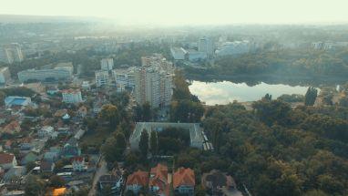 Foto Filmare cu drona 4k.Chisinau.Valea Trandafirilor