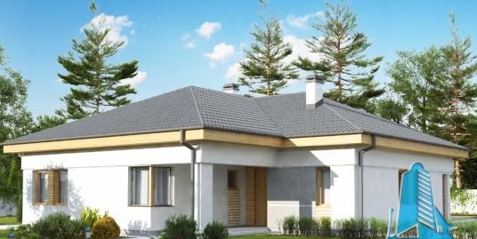 Proiect de casa cu parter -100848