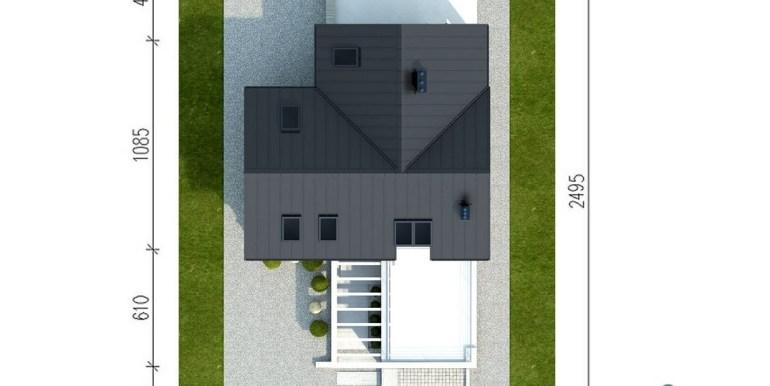 Casa cu parter,mansarda si garaj pentru un automobil-1