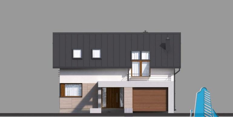 Casa cu parter,mansarda si garaj pentru un automobil