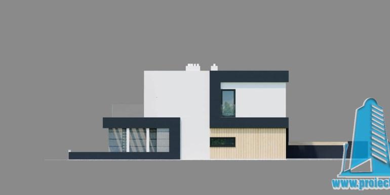 Casa multifamiliala cu parter, etaj si garaj pentru un automobil