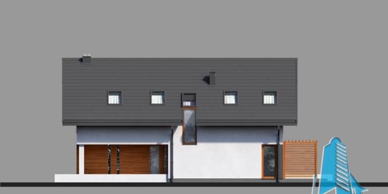 Casa cu parter, mansarda si garaj pentru un automobil-I