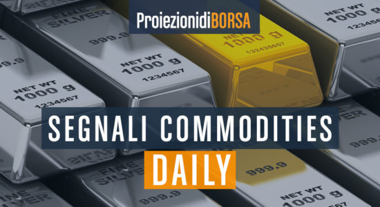 I livelli Buy and Sell per 4 commodities del 10 agosto
