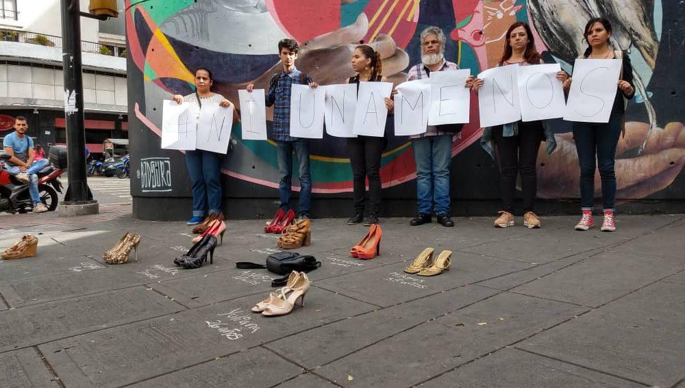 Víctimas de feminicidios