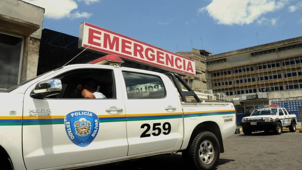 ejecución de un hombre en Guayana