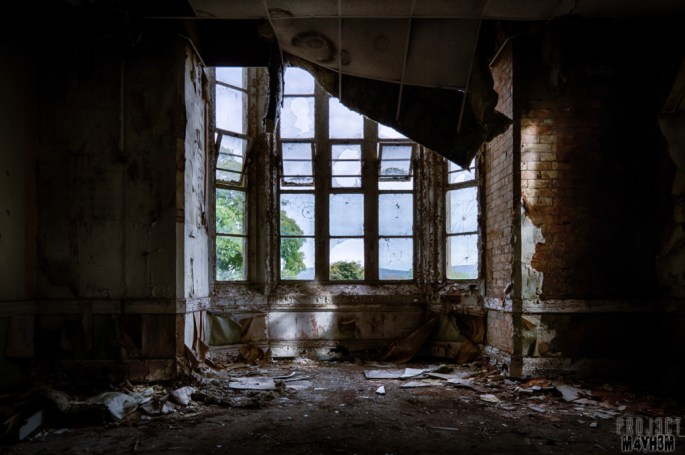 Denbigh Lunatic Asylum, abandoned asylums