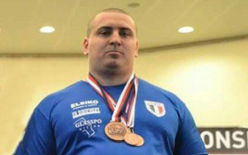 Gianmario Gorga - campione italiano Powerlifting