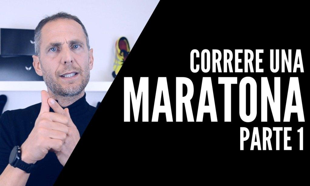 correre una maratona