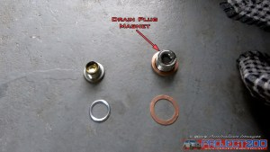 Landcruiser 200 front diff washer