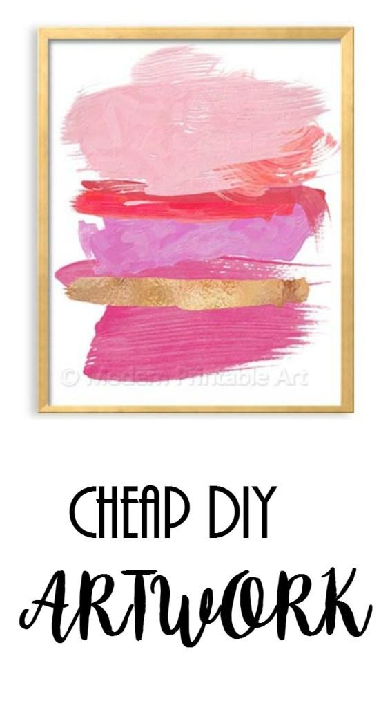 Cheap DIY Artwork!