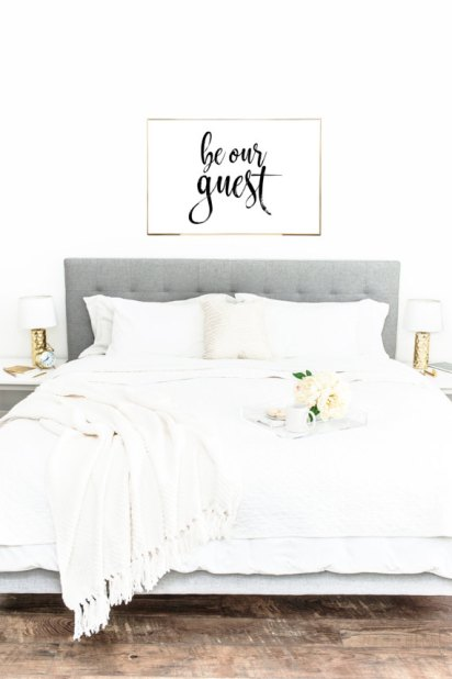 be our guest art