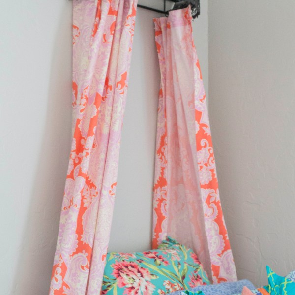 DIY Designer Curtains!