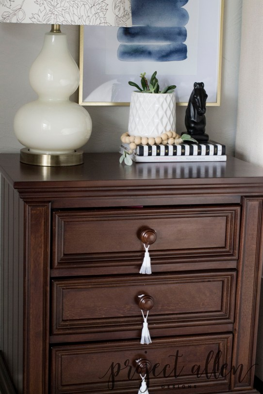 How To Style A Nightstand! • Project Allen Designs