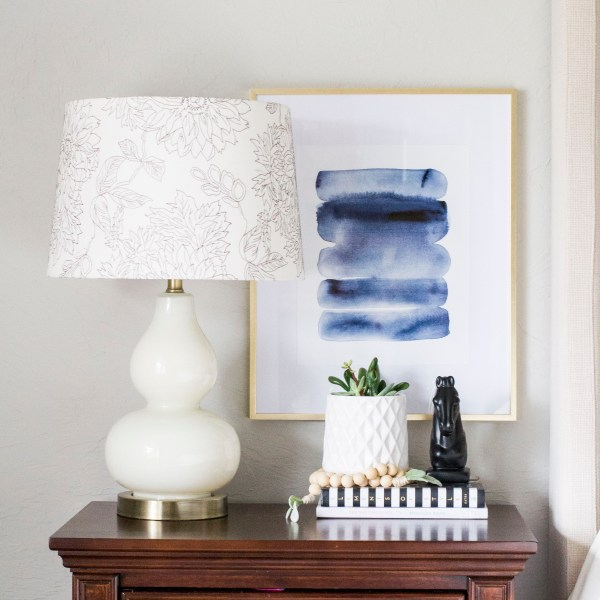 How To Style a Nightstand!