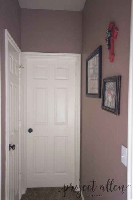 Project Allen Designs A Quick And Easy Hallway Makeover!